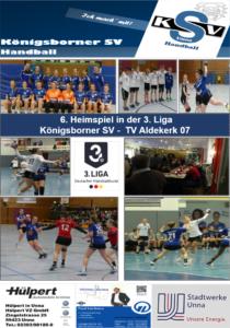 Spielheft KSV - Aldekerk erschienen