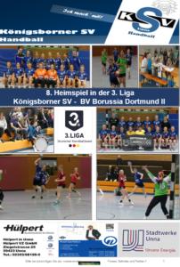 Spielheft KSV-BVB Dortmund II erschienen
