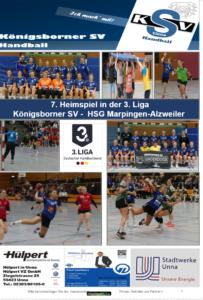 Spielheft für die Partie KSV-Marpingen/Alzweiler erschienen