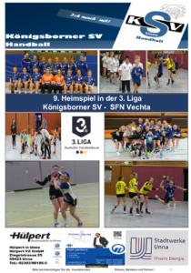 Spielheft KSV-SFN Vechta erschienen